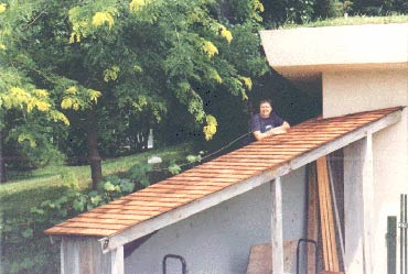 Re-Roofing the shed